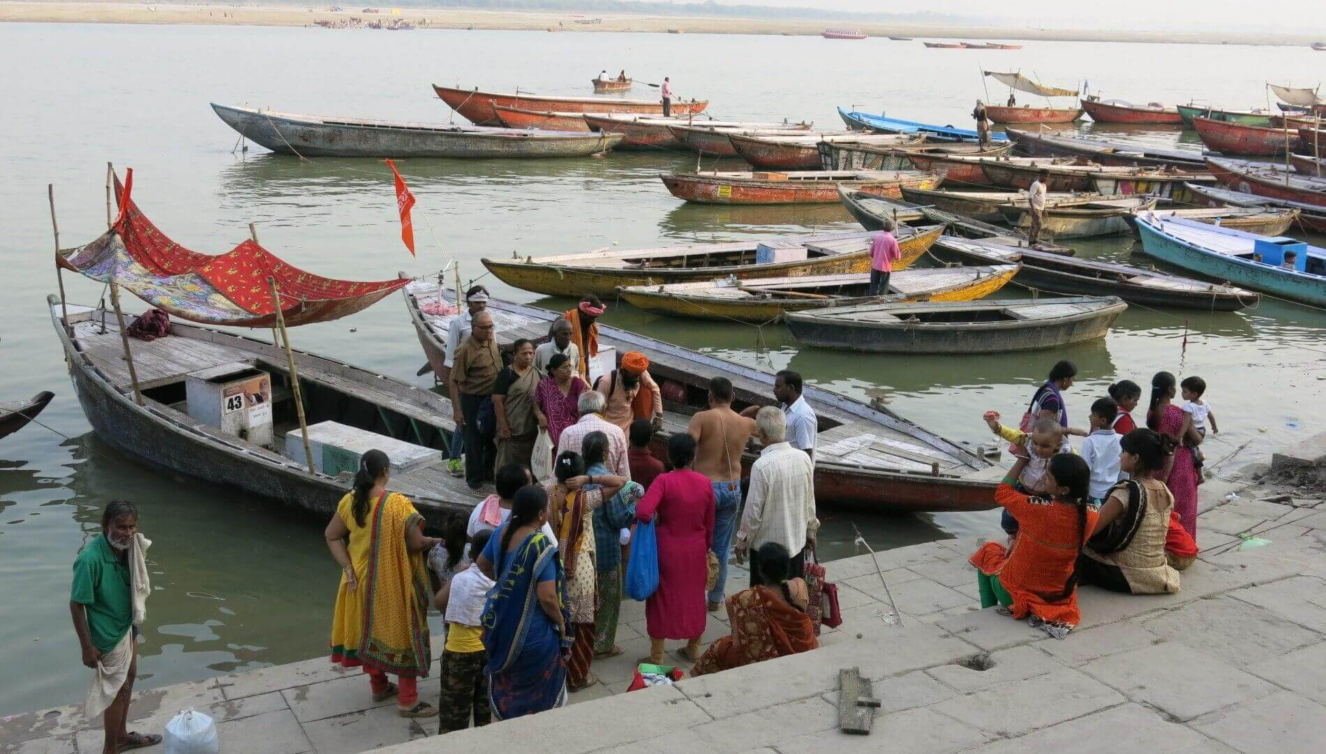 Varanasi Ghats By Jasmine Trails