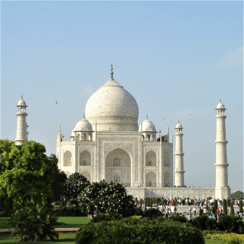Customized Travel to India with Jasmine Trails. In the Image is The Taj Mahal in Agra India