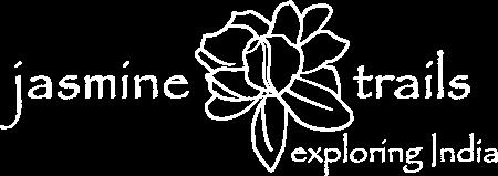 Jasmine Trails Logo. An Indian travel company