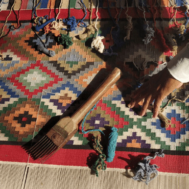 Dhurrie Weaving Jodhpur in Rajasthan