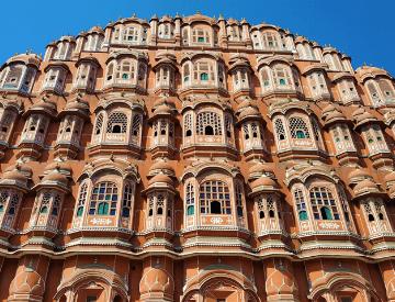 Hawa Mahal in Jaipur, the Pink City