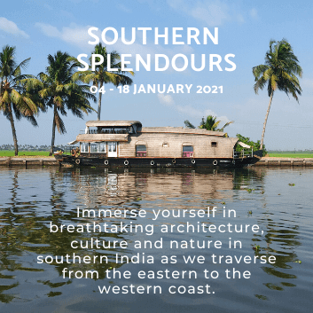 Southern Splendours Tour of South India by Jasmine Trails in January 2021