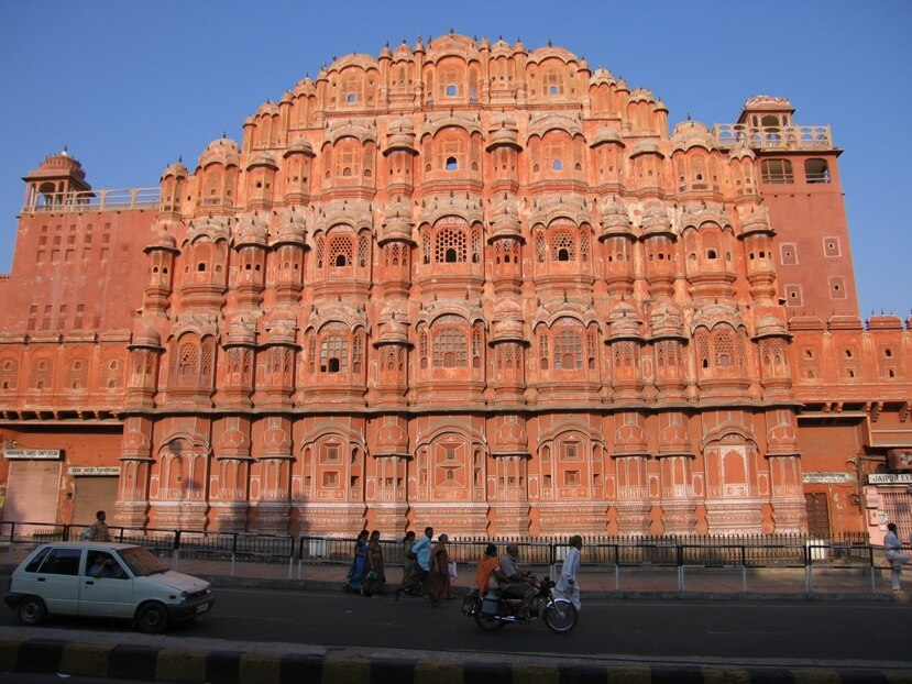 Hawa Mahal at Jaipur part of the Golden Triangle tour