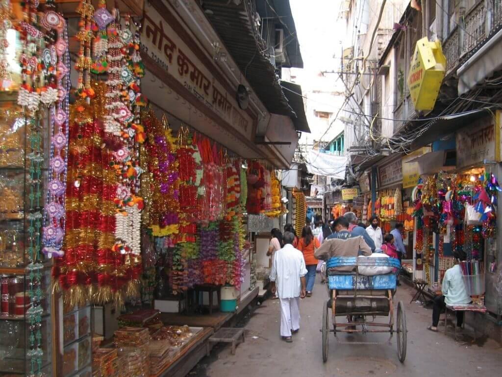 Street walk Old Delhi