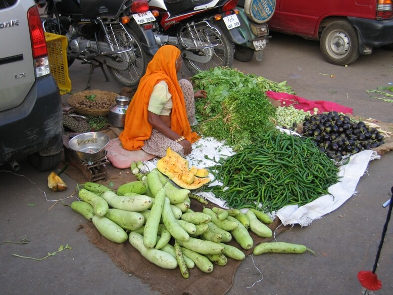 Vegetable Vendor in Rajasthan