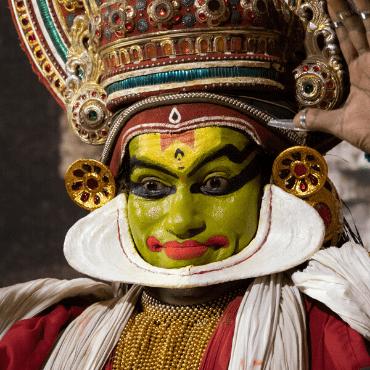 Kathakali Dancer Face Mask