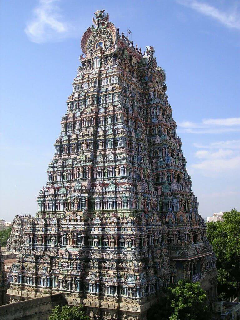 Meenakshi Amman Temple Madurai in Tamil Nadu is also known as the Meenakshi Sundareshwarar Temple