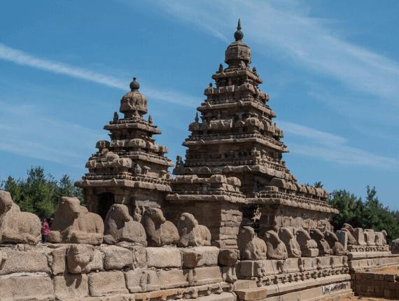 Shore Temples Mamallapuram