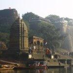 Ahilya Fort at Maheshwar on the Narmada Madhya Pradesh