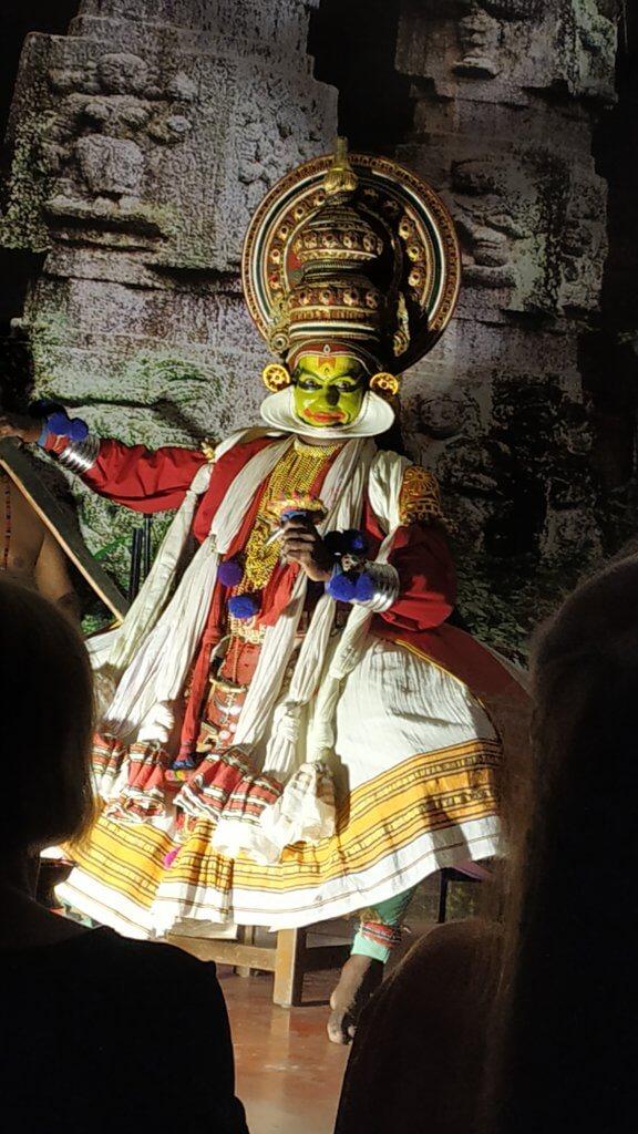 Kathakali Dancer in Cochin Kochi