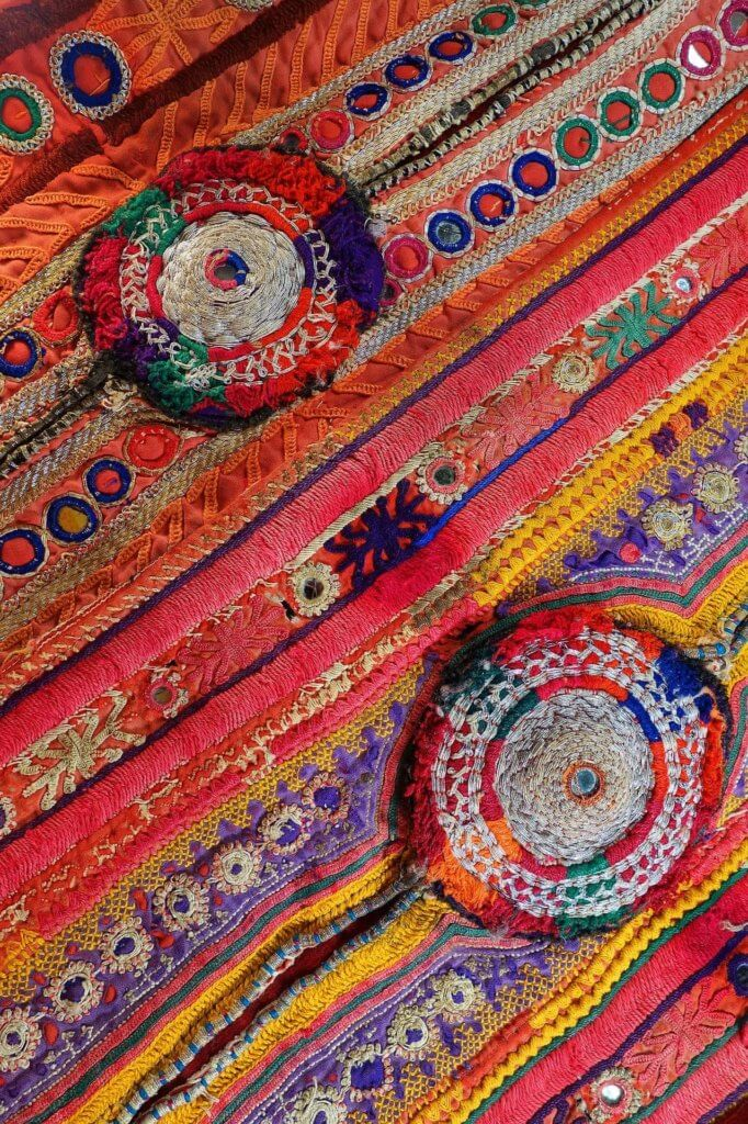 Kutch embroidery in Gujarat India