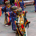 The dance of Shiva at the Rumtek Monastery in Sikkim India