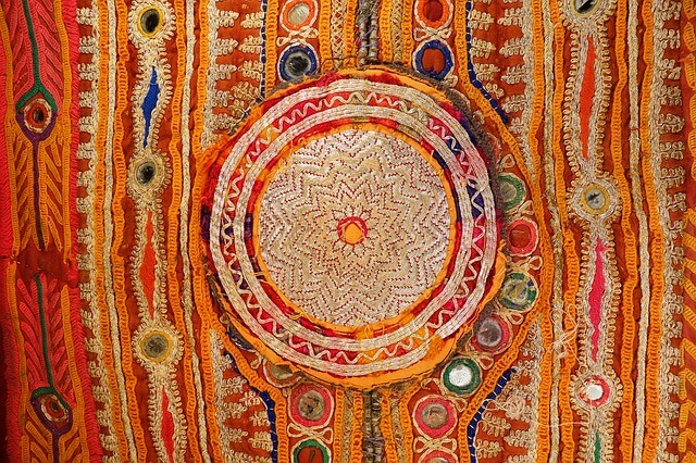 Traditional embroidery from Gujarat