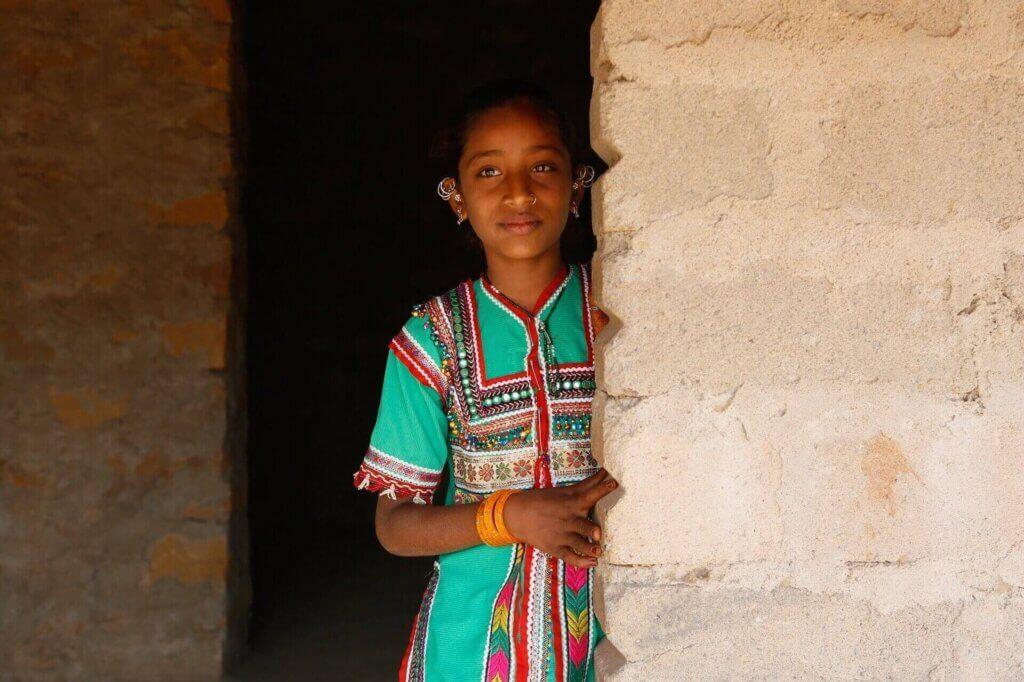 Tribal Girl Kutch