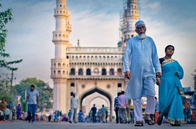 The heart of the Deccan Hyderabad Charminar